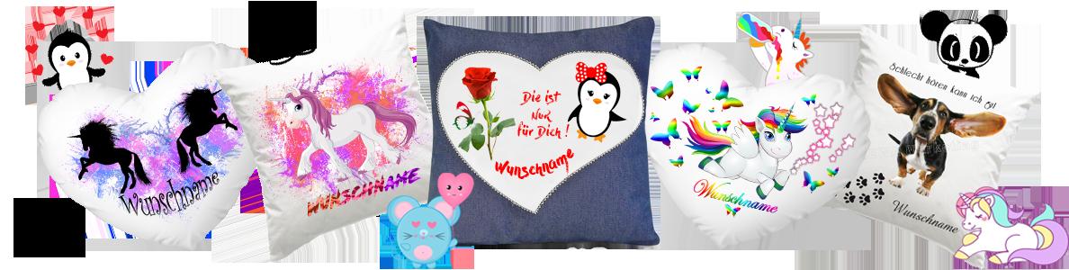Shop für Bedruckte Geschenke - Angebote zu bedruckte Kissen